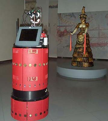 Tourbot - interactive musuem telepresence through robotic avatars